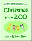 Christmas at the Zoo play script for KS1 kids in Year 1-2 (KG/Grade 1)
