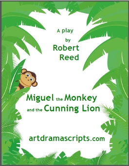 Kids play script jungle fable by Robert Reed